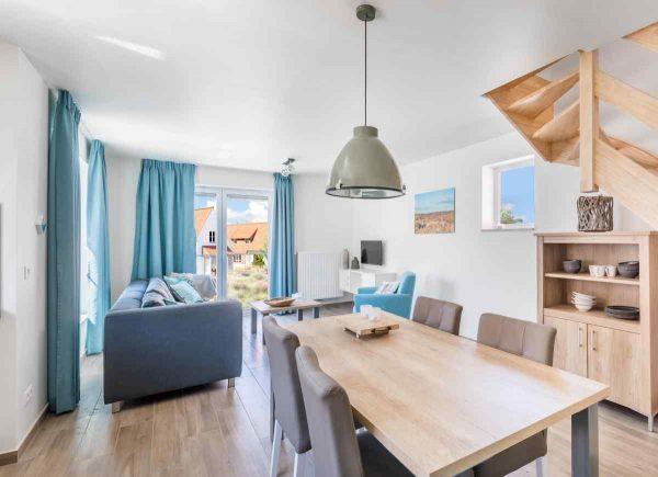 Vakantiehuis BK002 - Belgie - West-Vlaanderen - 4 personen - woonkamer
