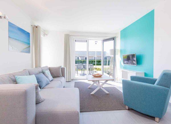 Vakantiehuis BK014 - Belgie - West-Vlaanderen - 4 personen - woonkamer