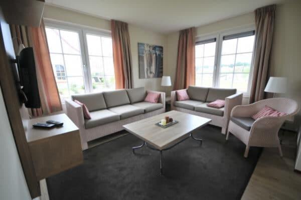 Vakantiehuis ZE542 - Nederland - Zeeland - 6 personen - woonkamer