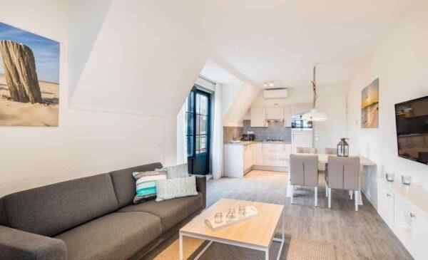 Vakantiehuis ZE655 - Nederland - Zeeland - 4 personen - woonkamer