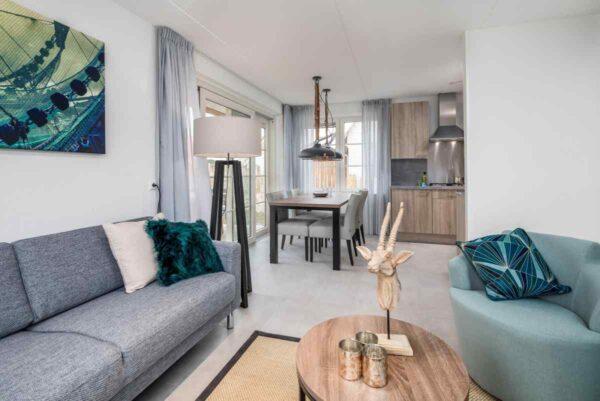 Vakantiehuis ZE684 - Nederland - Zeeland - 4 personen - woonkamer