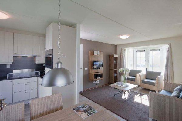 Villa CA4B - Nederland - Zeeland - 4 personen - woonkamer