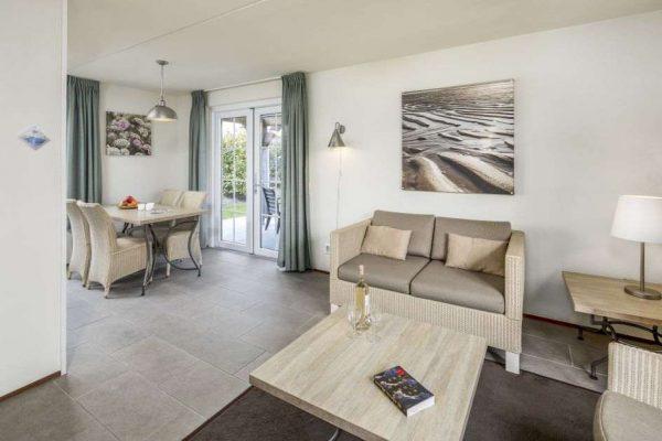 Villa CAL4B - Nederland - Zeeland - 4 personen - woonkamer