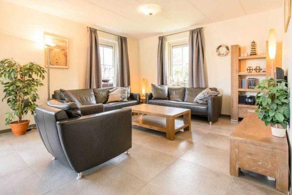 Engelsmanduinvilla Deluxe 6 - Nederland - Waddeneilanden - 6 personen - woonkamer