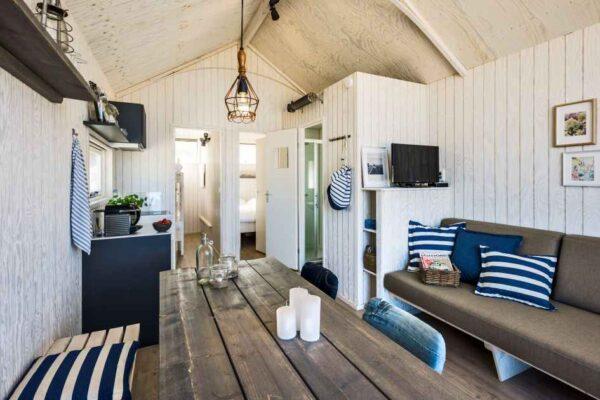Haagse Strandhuisjes 4 - Nederland - Zuid-Holland - 4 personen - woonkamer