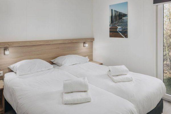 Kinderchalet Comfort 5 - Nederland - Zeeland - 4 personen - slaapkamer
