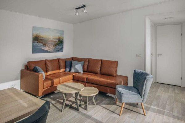 Kinderchalet Comfort 5 - Nederland - Zeeland - 4 personen - woonkamer