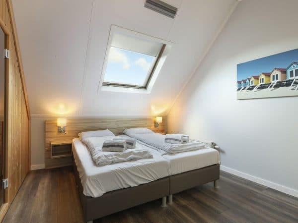 Landal Strand Resort 4L - Nederland - Zeeland - 4 personen - slaapkamer