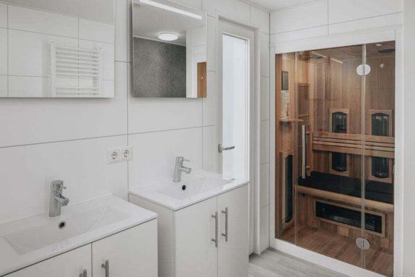 Wellness Chalet 4 - Nederland - Zeeland - 4 personen - badkamer