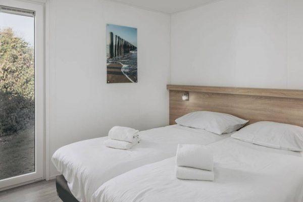 Wellness Chalet 4 - Nederland - Zeeland - 4 personen - slaapkamer