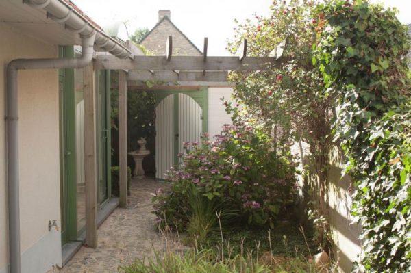 Normandie - België - West-Vlaanderen - 12 personen - omheinde tuin