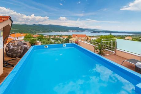 Villa Antonia - Kvarner - Kornić -Krk - 8 personen