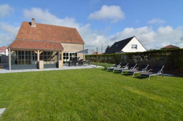 Villa Arthur - België - West-Vlaanderen - 10 personen - omheinde tuin