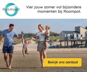 roompot aan zee banner